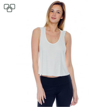 OEM high quality fashion ladies compression tank top with custom logo,Women crop top