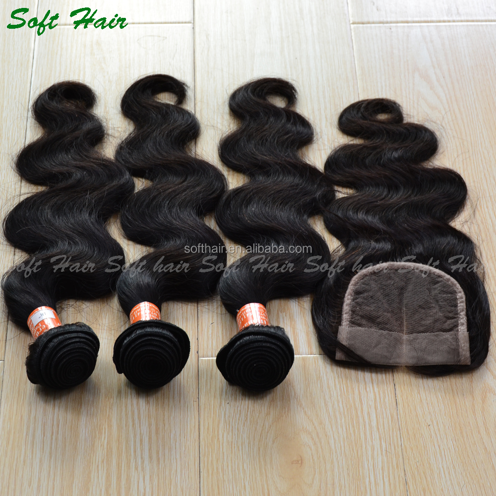 ms lula hair wholesale 7a body wave virgin peruvian hair with closure
