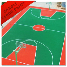 China pu floor paint outdoor basketball flooring prices