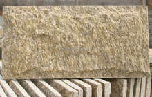 Exterior Tiger skin Yellow Granite Mushroom stone wall cladding