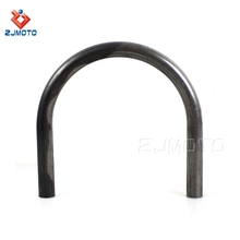 "100% New High Quality Bare Steel Finishing Iron 22.2mm 7/8"" Rear Seat Hoop Tailstock Universal For Motorcycle With Flat Frame CC"