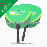 Guangzhou 2014 new products promotion cheap gift mini pp hand fan