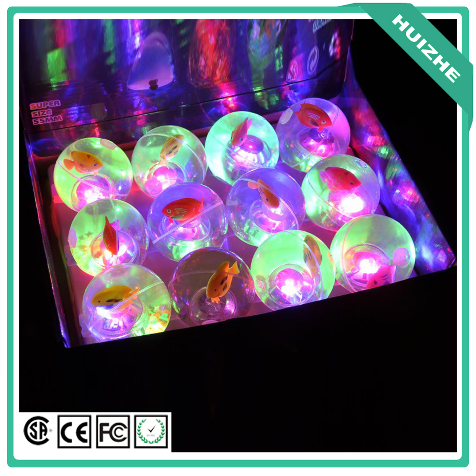 Light High LED Luminous Bouncing Ball Flashing Bouncing Ball Colorful Elastic Ball