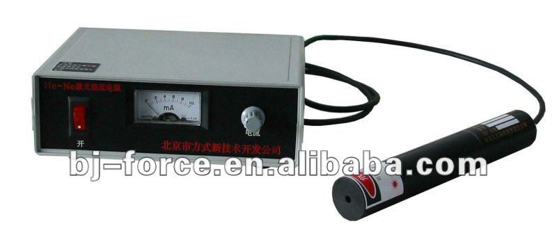 He-Ne laser 0.8mw with detector