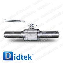 Factory directly provide professional useful pn16 carbon steel flange ball valve