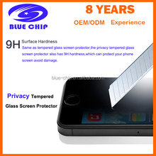 Cheapest Privacy Tempered Glass Screen Protectors for Iphone 5 /5S/5C