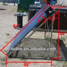 Buy Pressured U Copper Tube Coil Heat Exchanger Vacuum Solar Collector
