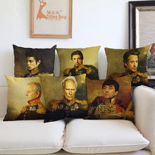 New Design Famous Movie Star Vintage Style Popular Design Small MOQ Personalized Factory OEM Wholesale Cushion Cover
