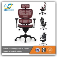 best quality leather office furniture executive chair office chair specification rotating chair with sliding seat C108A