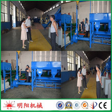 Good price bamboo charcoal wood waste briquette extruding machine