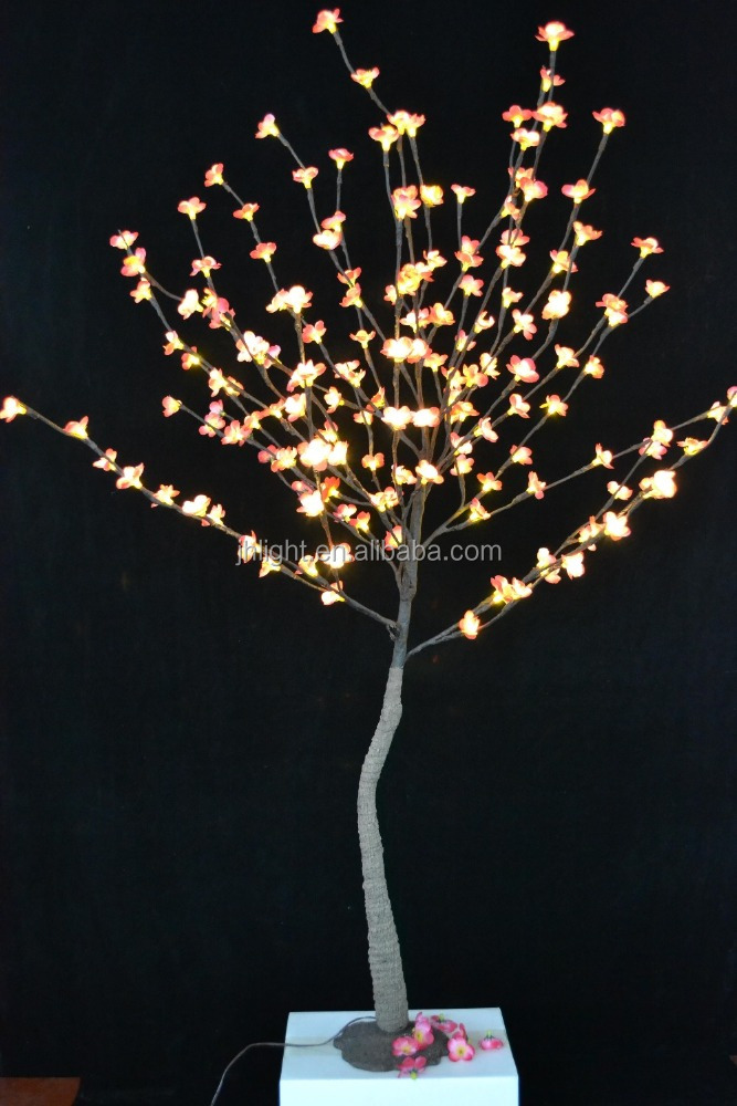 Perfectlly shaped Led cherry blossom tree light artificial cherry tree led lights artificial tree light cherry blossoms