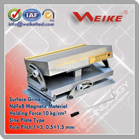 Manual Permanent Magnetic Chuck Sine Plate