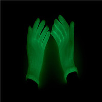 Lighting Flashing Glowing Mittens Gloves Rave Festive Event Party Supplies Luminous Cool Gloves