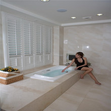 Manufacture interior waterproof pvc plantation shutters