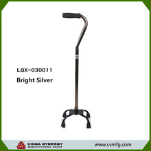 76.5cm/99.5cm Bright silver cane&crutch and quality crutch