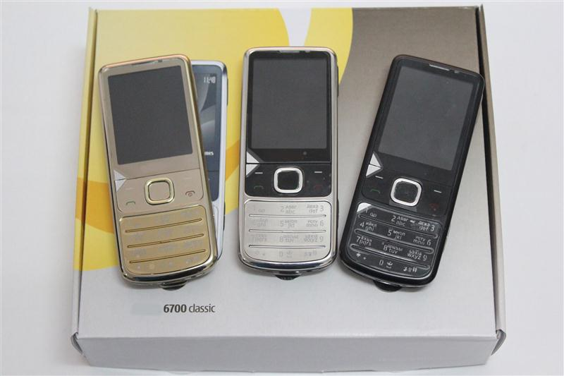 New 3g original 6700 classic mobile phone handphone 6700 100% original unlock mobile phone