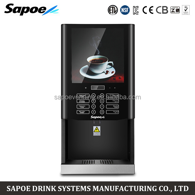 Best Hot And Cold Coffee Maker : Sapoe 7 Kinds Drinks Fully Automatic Commercial Hot And Cold Coffee Maker - Buy Coffee Maker,Hot ...