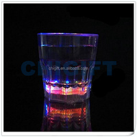 Colorful Plastic Blinking LED Glass