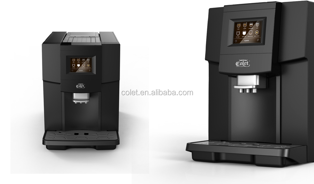 Ningbo One touch coffee making machine ABS Plastic Housing Material coffee machines for offices