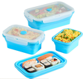 500ml school lunch box foldable lunch box kids lunch box