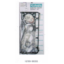Kubota engine gasket set 1G789-99355 Kubota engine spare parts