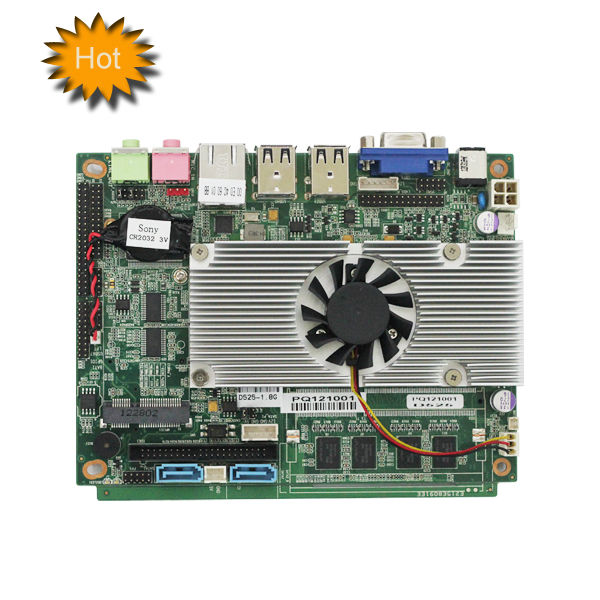wholesale computer part 3.5 inch industry mainboard Intel atom router motherboard