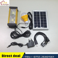LM-8899 rechargeable bright solar power system for small homes