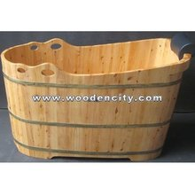 wooden bathtub,wood bathtub