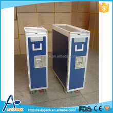 Good quality aluminum alloy aircraft inflight service meal trolley
