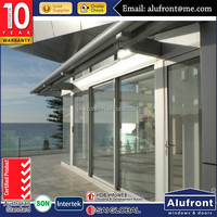 Aluminium Fly Screen Door/Double Glazed Aluminium Sliding Windows And Doors Comply with Australian Standards AS2047