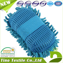 Car Clean Brush Not To Hurt The Surface Chenille Car Washing Sponge