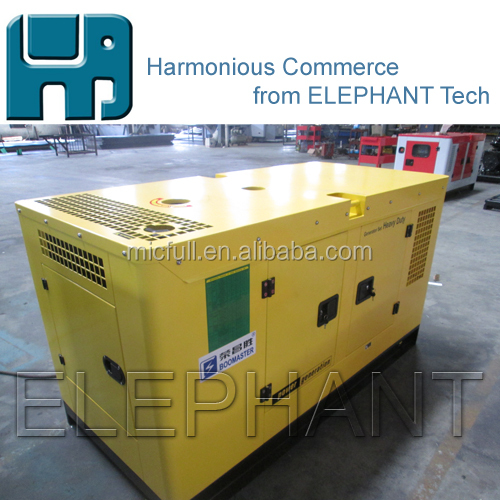Thailand Small Size Silent Sound Proof Canopy 30kVA Diesel Power Generator Gen Set