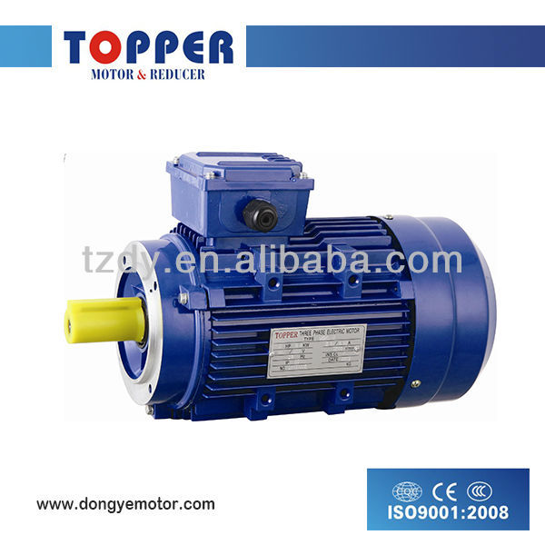 MS series three phase 4 pole asynchronous electric motor