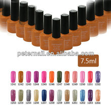 CBD7.5ml soak off nail gel color art uv led gel nail art gel nail polish color 25-48