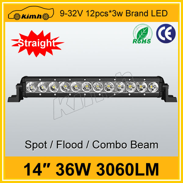 Hot sale 4x4/4wd/offroad IP68 14'' 36W best price smd 3528 led bar light