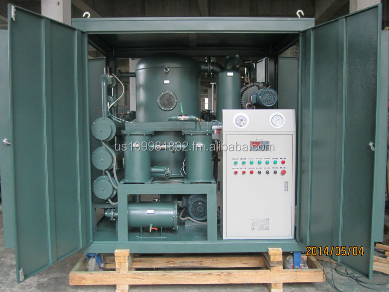 Latest Double-Stage Transformer Oil Purification, Oil Purifying Unit