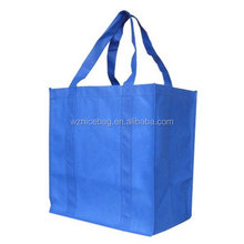 2015 New Designed Lovely people Foldable Reusable Grocery Bag Shopping Bag Hanging Bag