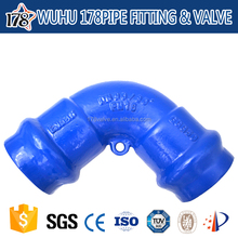 Chinese iron manufacturers direct sales ductile cast iron pipe clamp