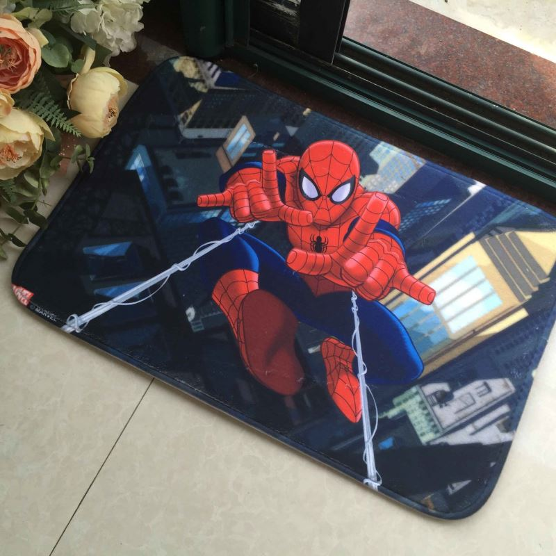 Memory Foam Coral Fleece Kids Cartoon Floor Carpet