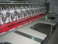 21 Head Multi Head Double Sequence Embroidery Machine