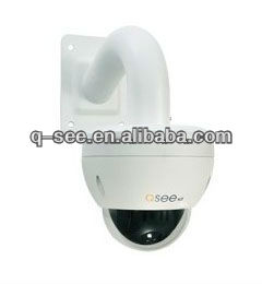 QCN8010Z 1080p Resolution Weatherproof Mini PTZ IP Camera with Built-in Micro SD Card Slot