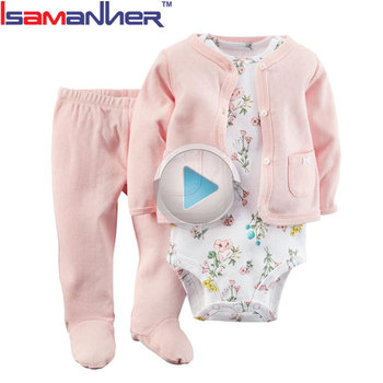 Fashion toddler rompers baby clothing set wholesale china