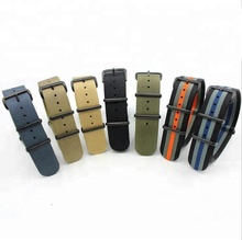 fabric nato watch strap 16mm 18mm 20mm 22mm ready for delivery in 3 days