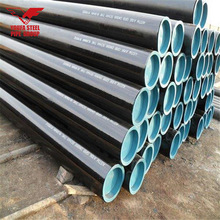Youfa brand erw welded steel pipe black ms tube schedule 10 carbon steel pipe for ASTM A53