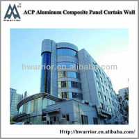 Aluminum Curtain Wall with design,fabrication and installation