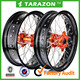 High quality stunning CNC alloy aluminum motorcycle 17'' spoke wheels for KTM Husaberg