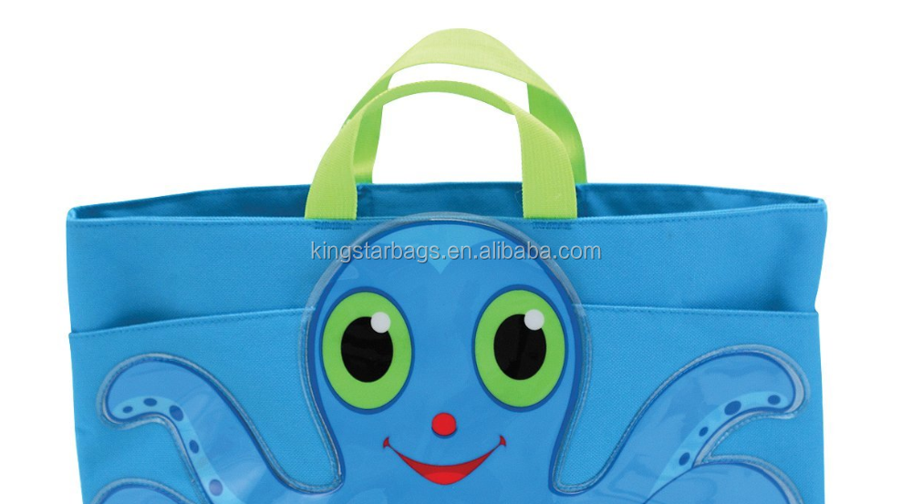 Sunny Patch Children Octopus Beach Tote bag