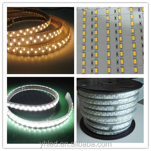 2016 New type led strips 220v 277v 5730 outdoor diwali decorative lights 2400k warm white led strip 5730 smd led price