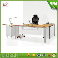 Factory wholesale price modern panel office metal computer table design