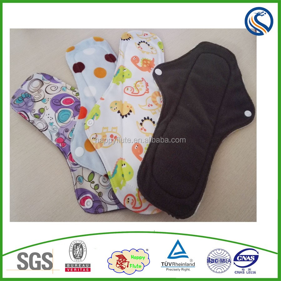 for lady sanitary reusable cloth napkins menstrual pads nursing pads lady washable carefree anion manufacturer